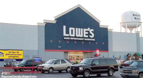 lowes flooring department number waycross georgia ware cty college restaurant bank hotel attorney dr hospital fire dept store