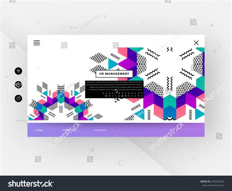geometric design website templates entheos website template trendy geometric flat pattern stock Abstract