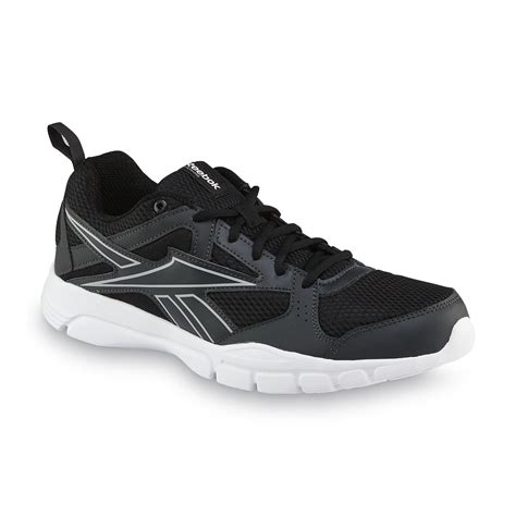 for mens reebok cross shoes blue black white reebok s trainfusion black white cross shoe
