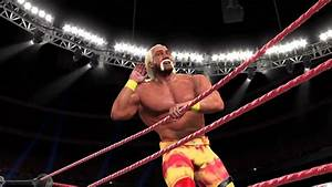 WWE2K15 - Hulk Hogan Early 2000 era Alt attire - YouTube