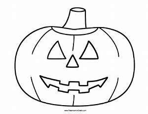 Calabaza de Halloween para Colorear - Para Imprimir Gratis ...