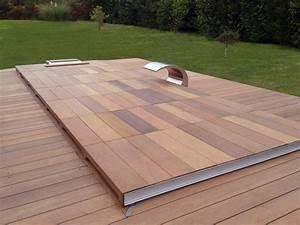 les 25 meilleures idees de la categorie couverture With terrasse en bois pour piscine hors sol 5 piscine 100 bois decouvrez cette nouvelle piscine bois