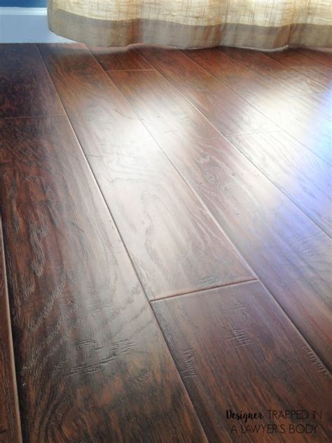 Why We Chose Laminate Flooring For Our Home  Designer Trapped