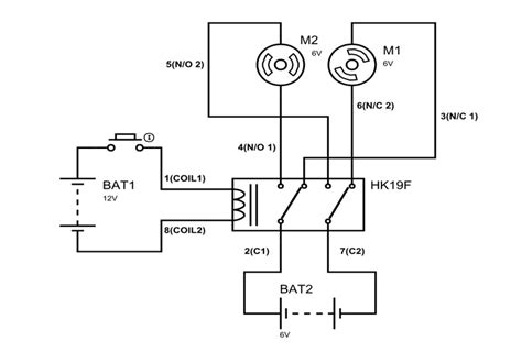 Hkf Dpdt Relay Pinout Features Equivalents Working
