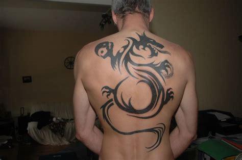 tribal dos dragon photo de tattoo tatouage tribal