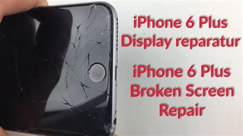 lcd display reparieren iphone 6 plus display lcd wechseln tauschen reparieren repair change fixing