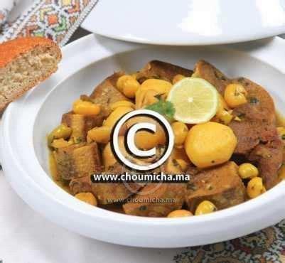 cuisiner une langue de boeuf choumicha recette de la langue de veau pois chiches et
