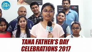 TANA Father's Day Celebrations 2017 || Telugu Association ...