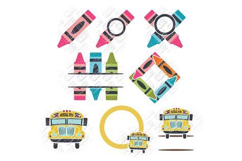 school monogram svg  svgdxfepsjpgpng ohmycuttables