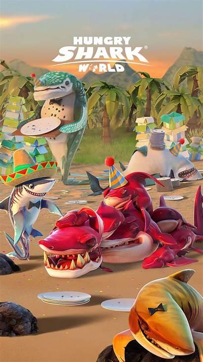 Hungry Shark Frenzy Sharks Wallpapers Last Megalodon