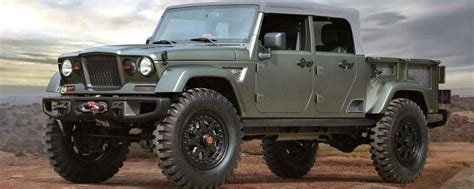 jeep wrangler pickup  truck  release date rubicon spirotourscom