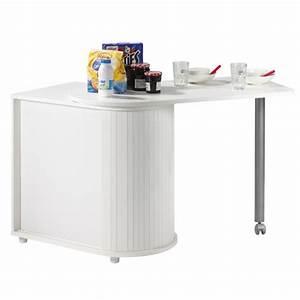 Table Bar Rangement : table pivotante et meuble de rangement de cuisine blanc beaux meubles pas chers ~ Teatrodelosmanantiales.com Idées de Décoration