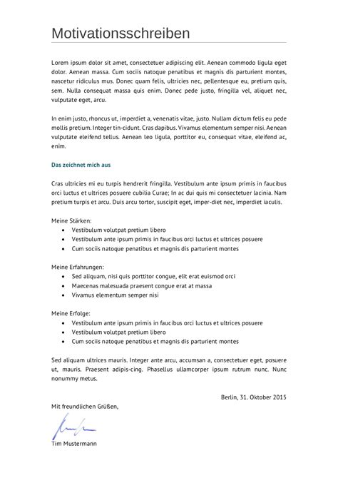 initiativbewerbung muster fuer techniker