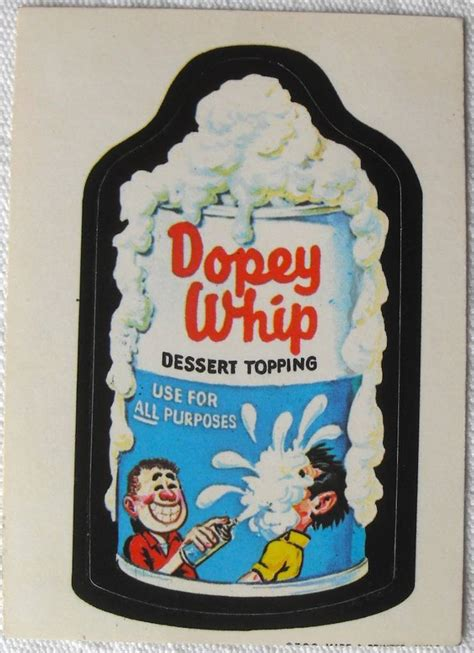 wacky packages stickers  fad  children