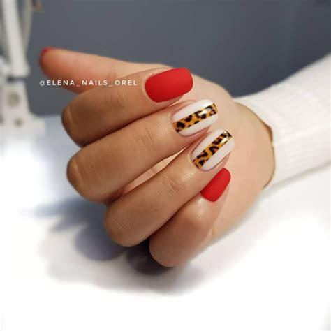 Только самый модный бордовый маникюр 20202021 дизайн ногтей новинки фото