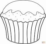 Muffin Coloring Drawing Pages Template Dessert Cupcake Desserts Cute Cupcakes Cake Food Clipart Ice Cream Muffins Printable Clipartmag Print Molar sketch template