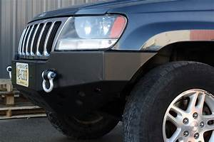 Rock Hard 4x4 U2122 Patriot Series Front Bumper For Jeep Grand Cherokee Wj 1999