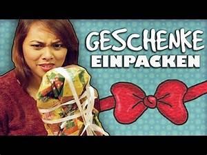 Geschenke Richtig Verpacken : weihnachtsgeschenke richtig verpacken wie geht das chaos chrissy youtube ~ Markanthonyermac.com Haus und Dekorationen