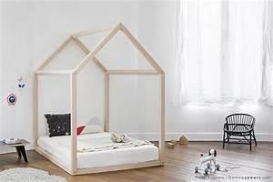 Lit Tipi Enfant : un lit cabane pour une chambre d 39 enfant aventure d co ~ Teatrodelosmanantiales.com Idées de Décoration