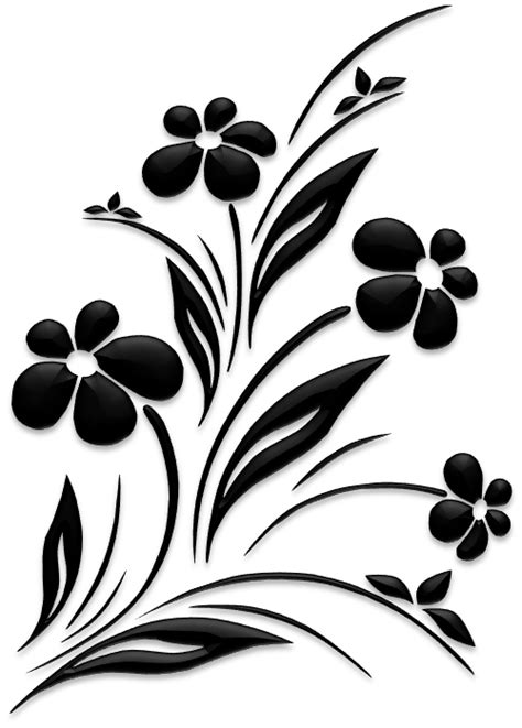 Flower – Silhouettes – ZM Creations