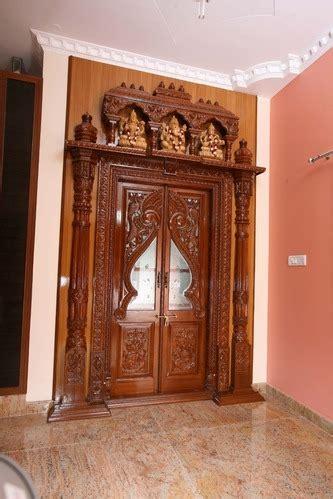 pooja door pooja room door design  interior designers
