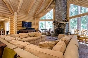 Luxury Log Mansion Vacation Rental In Idyllwild  Ca    6