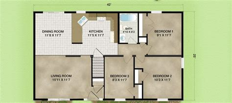 ranch style ranch style cabin floor plans