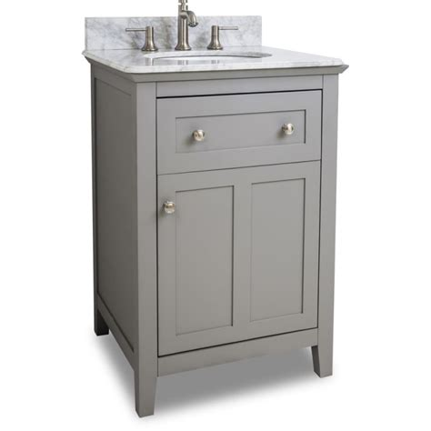 24 inch vanity with sink jeffrey alexander van102 24 t grey chatham shaker