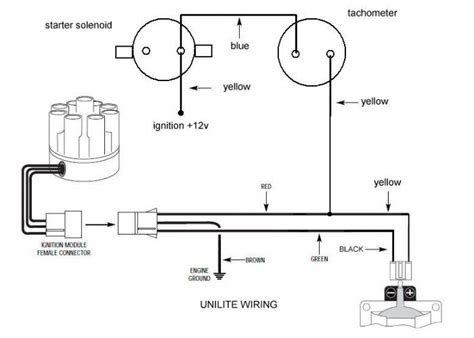 Wiring For Mallory Unilite The Amc Forum