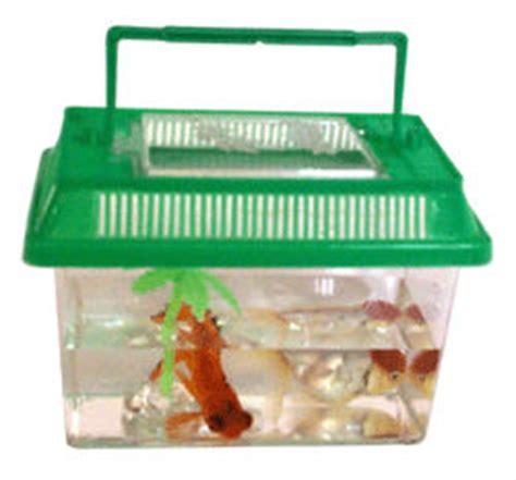 mini r 233 servoir de poissons d aquarium en plastique avec couvercle r 233 servoirs de poissons