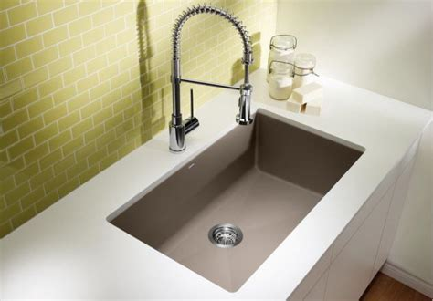 blanco granite kitchen sink blanco precis u single 400890 4777