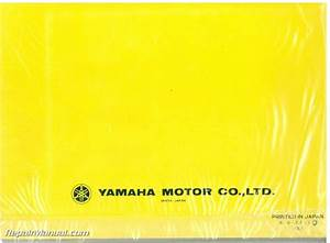 1981 Yamaha Xj650lh Midnight Maxim Motorcycle Owners Manual