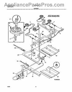 Parts For Tappan Tgf355bhwf  Burner Parts