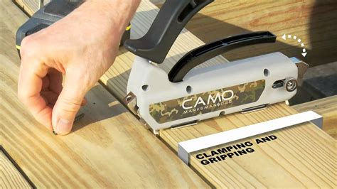 Camo Deck Tool Spacing by Camo Fastening Tools Weekes Forest Products
