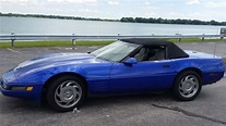 Used 1994 Chevrolet Corvette Convertible This Admiral Blue ...