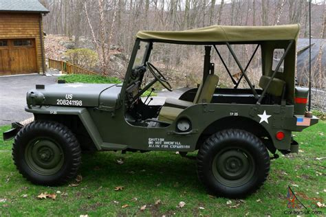military jeep willys for sale 1951 willys m38 fully restored antique army military
