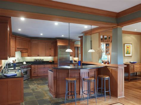 arts and crafts floor l arts and crafts craftsman kitchen dc metro by