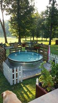 tub water trough ideas back yard the o jays pools and picket fences