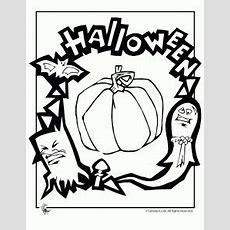 Join Lily, Tad And The Whole Leapfrog Gang For Halloween Fun With This 7page Coloring Book