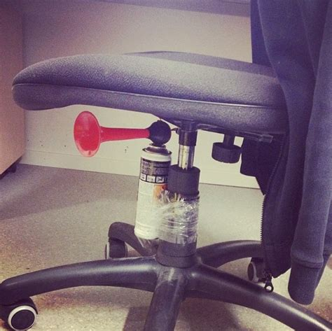 air horn chair prank office chair air horn prank