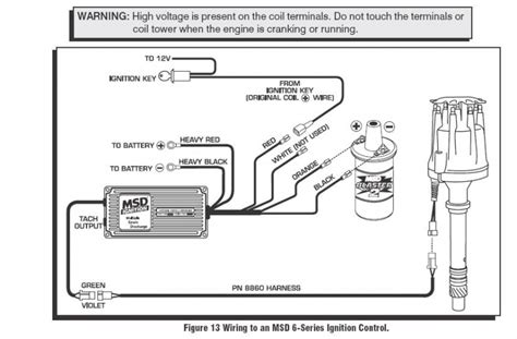 3 Wire Distributor Wiring Diagram by Msd Ignition 6200 Wiring Diagram Wiring Diagram And