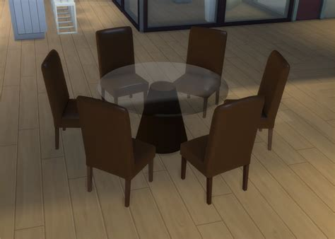 furniture kitchen island mod the sims modern 6 seater and 8 seater dining