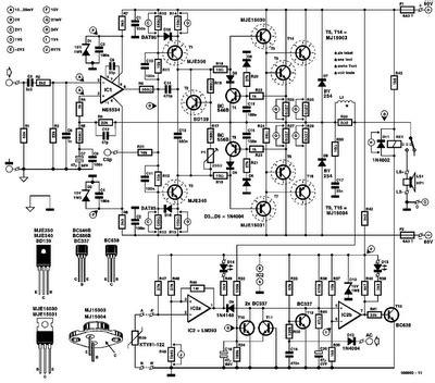 Power Amplifier Elektor Tools Audio