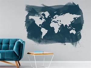 Dunkle Farbe überstreichen : grunge w nde wanddesign mit unsauberen kanten ~ Lizthompson.info Haus und Dekorationen