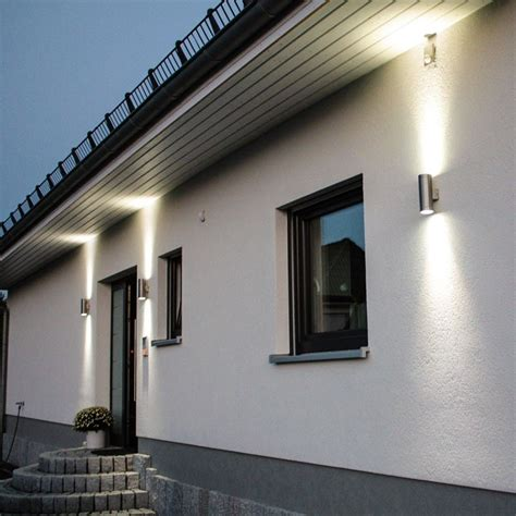 Beleuchtung Für Aussen by Steel Aussen Wandleuchte Up Beleuchtung