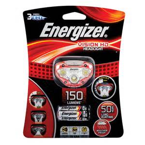 Le Frontale Energizer Vision Hd by Energizer Vision Hd Headlight Bunnings Warehouse