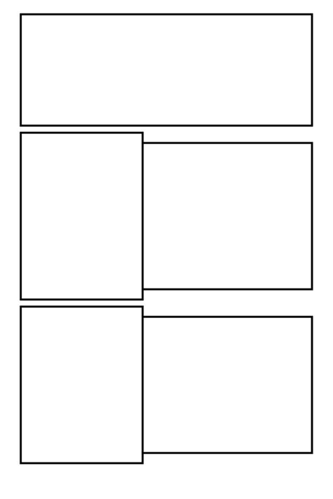Comic Template by Comic Clear 16 By Comic Templates On Deviantart