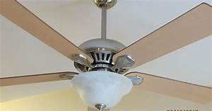 Diy ceiling fan makeover with modern masters paint hometalk