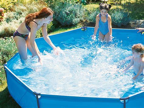 Swimming Pool Selber Bauen by Pool Selber Bauen Swimmingpool Im Garten Bauen De