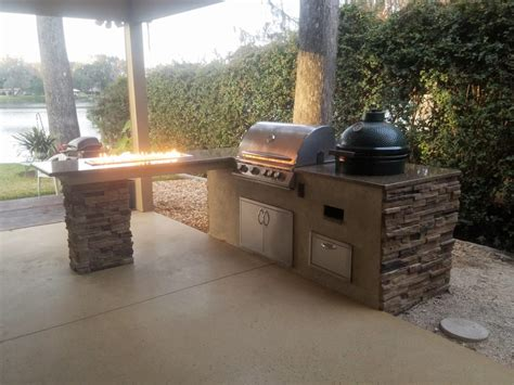 Creative Outdoor Kitchens Of Florida Big Green Egg